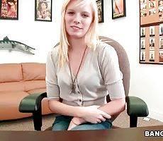 Young Blonde Elaina Raye Starts Porn Career 1